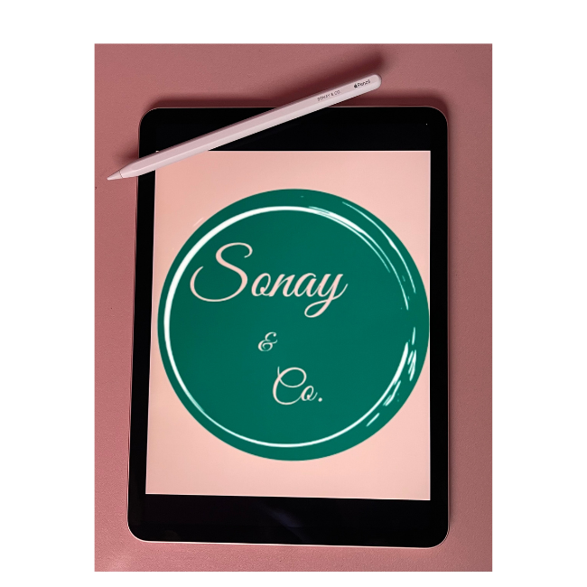 Sonay and Co Ipad with apple pencile